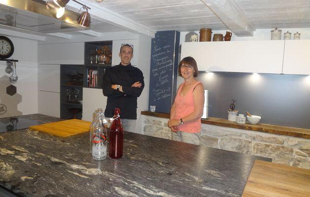 Frasne : Chambre d'hôtes et cours de cuisine sous le même toit
