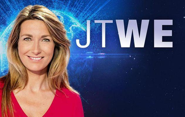 Le JT du week end 13h de TF1 du 22 avril