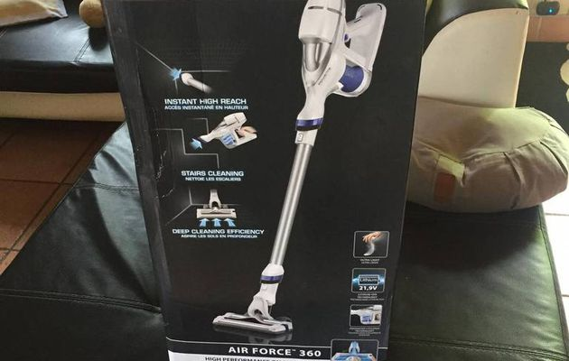 Aspirateur balai sans fil Air Force 360 de Rowenta