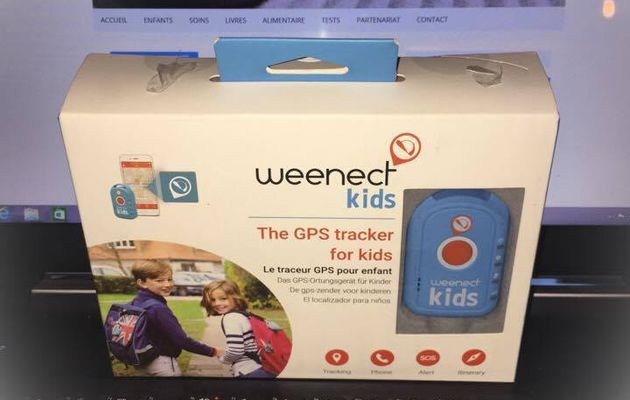 Test du traceur GPS de weenect kids !