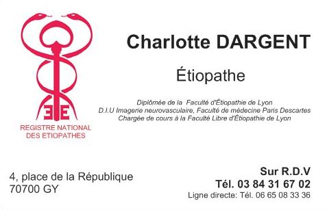 Charlotte DARGENT