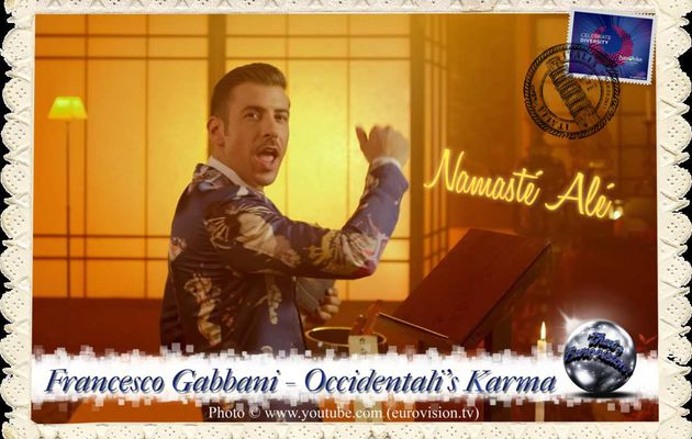 Italy - Francesco Gabbani (Occidentali's Karma) lyrics