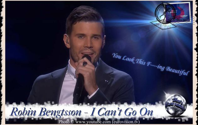Sweden - Robin Bengtsson (I Can't Go On) Lyrics