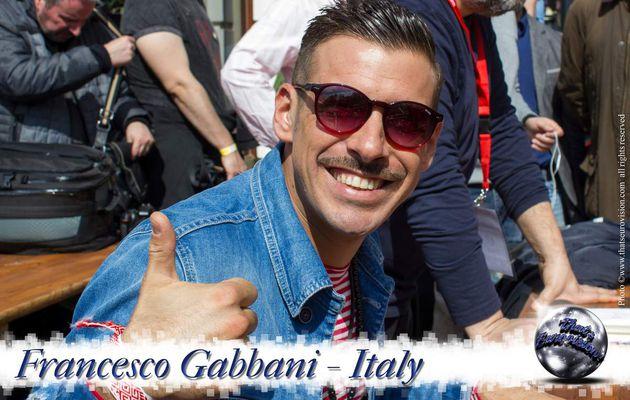 Italy - Francesco Gabbani - I'm Proud to represent Italy!