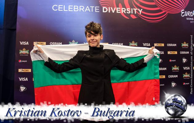 From Kiev with Love - Kristian Kostov - Bulgaria