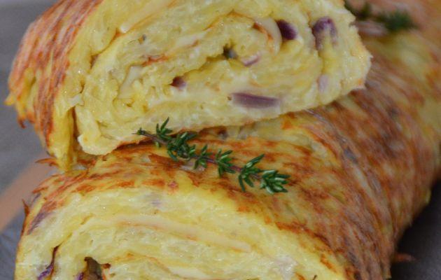 Potato & Cheese Roll