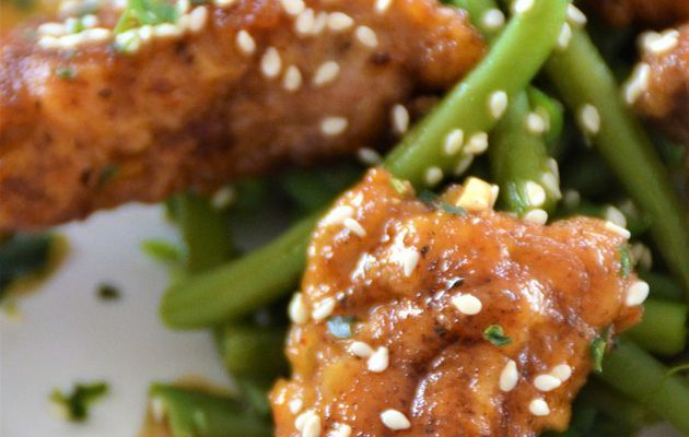 Honey Garlic Pork Nuggets