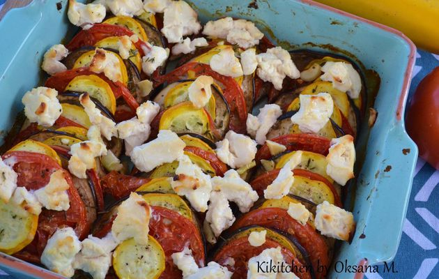 Summer Vegetable Tian with an Italian Touch