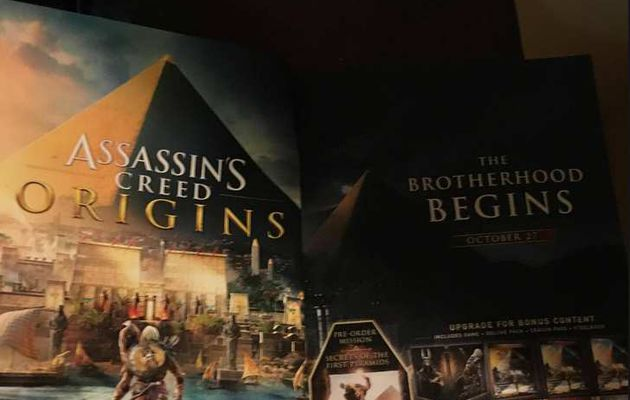 E3 NEWS :  Assassin's Creed Origins
