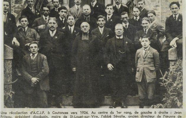L'Abbé Eugène Sévalle, curé du Tanu de 1910 à 1933, dernier curé résidant au presbytère
