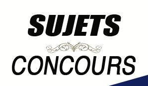CONCOURS FONCT. PUBL. C.I : MATHEMATIQUE SUJETS+CORRIGES
