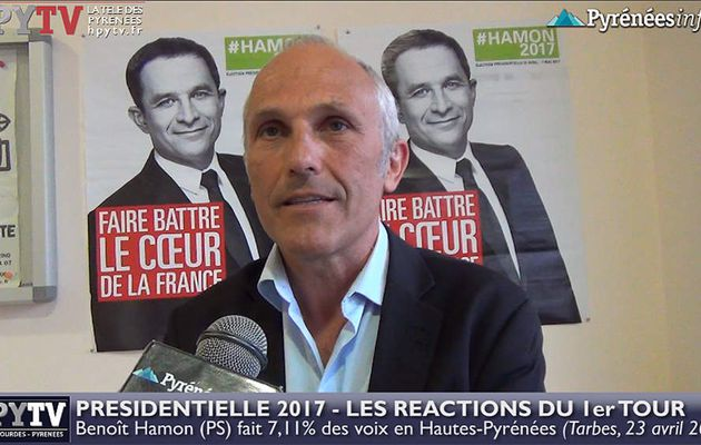 HPyTv Présidentielle | Réaction du PS des Hautes-Pyrénées au 1er tour (23 avril 2017)