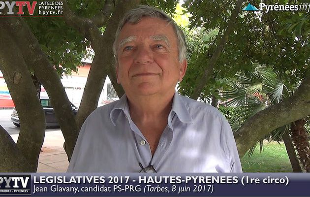 HPyTv Législatives | Jean Glavany candidat PS Hautes Pyrénées 1 (8 juin 2017)