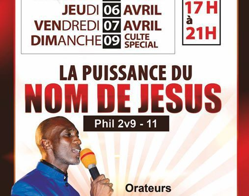 lA PUISSANCE DU NOM DE JESUS.