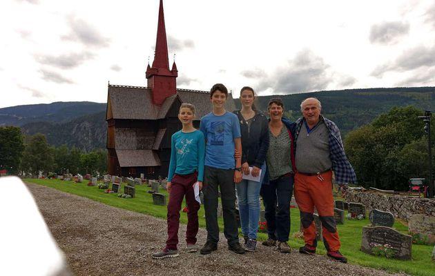 16 au 21 Août Roros, Lillehammer, route vers Oslo et Oslo