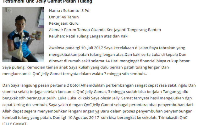Agen Qnc Jelly Gamat Di Malaysia