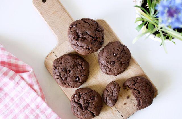 Mes Cookies Vegan tout chocolat