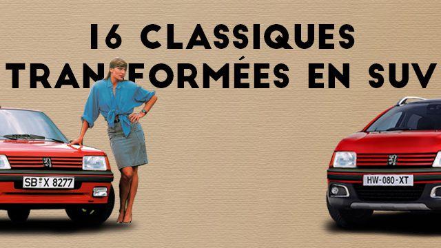 16 classiques de l'automobile transformées en SUV