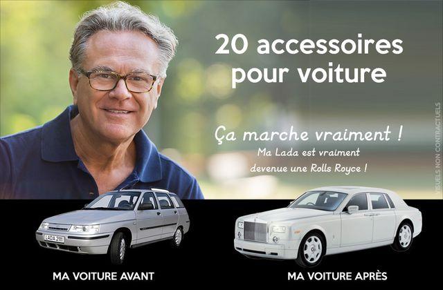 20 accessoires pas chers pour voiture