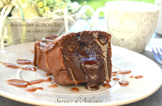 L'ultra fondant au chocolat au coeur coulant