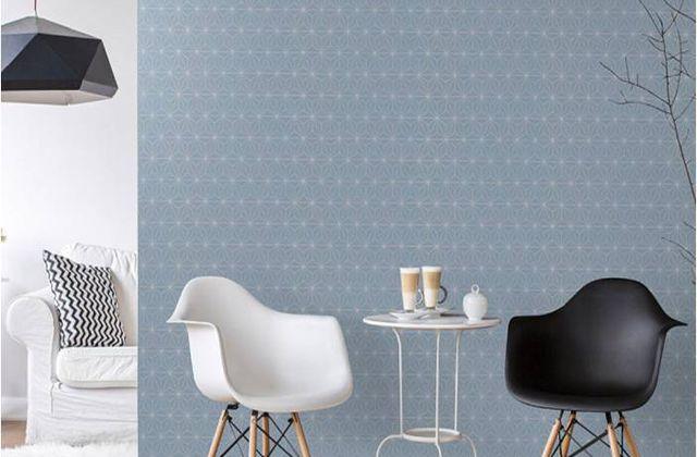 Déco : un mur en papier peint