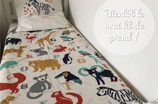 Passage au lit de grand (encore !)