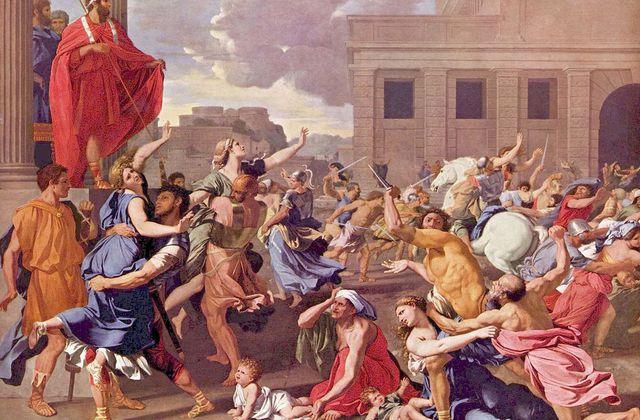 Poussin - L'enlèvement des Sabines - Daniel Arasse
