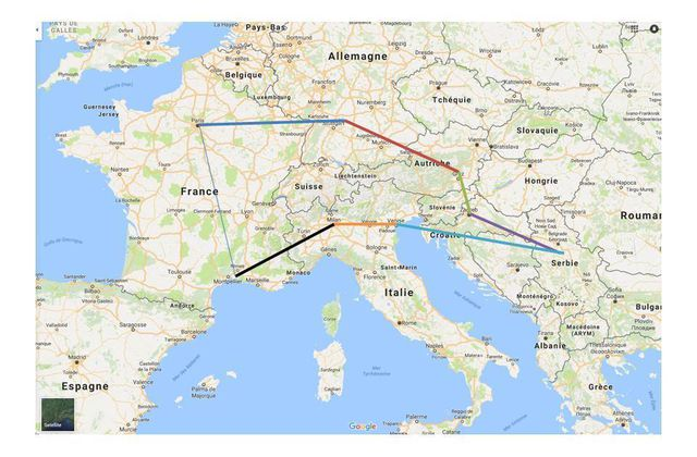 Sur les routes d'Europe… Etape 1 : l'Allemagne