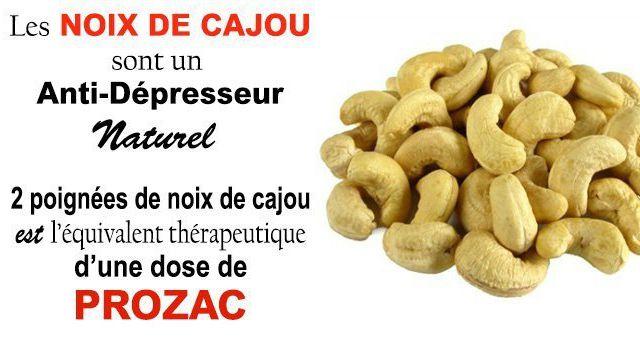 Les noix de cajou: le meilleur traitement pour la dépression sans médicaments!
