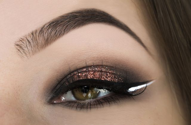 Copper Halo Eye & Double Liner // NYE Edition