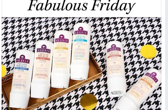 Fabulous Friday Glossybox Aussie hair