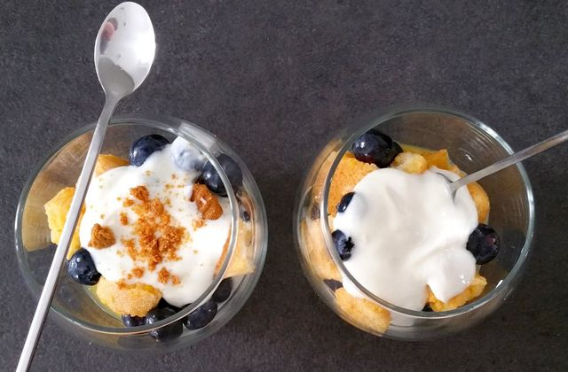 Trifle aux myrtilles - 4sp