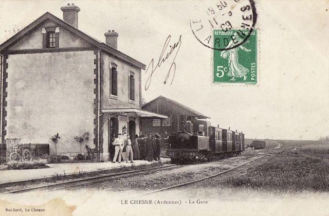 Les chemins de fer départementaux des Ardennes