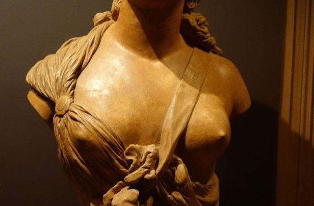 Apollonie Sabatier : égérie de grands artistes comme C.Baudelaire , G.Courbet etc....