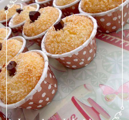 Mchewek à la noix de coco chocolat et miel gâteau algérien