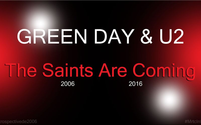 U2/Green Day - The Saints Are Coming