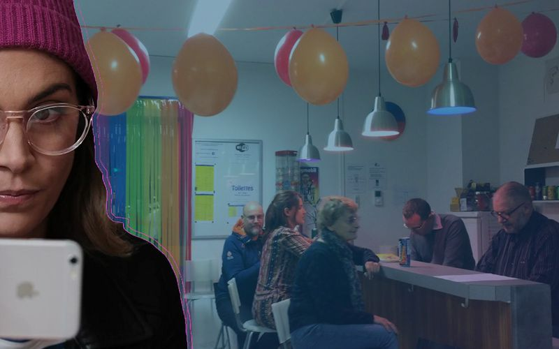 Rose visite le Centre LGBTI de Lyon dans PAROLES D'ENGAGÉS E01