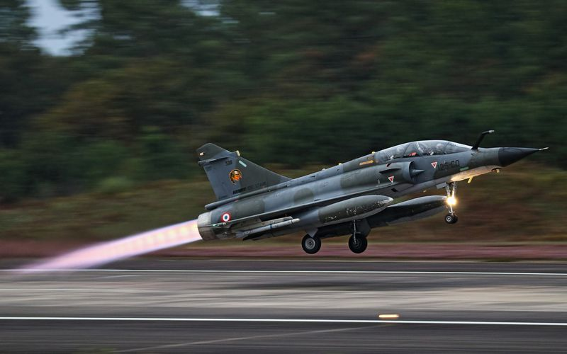 Exercice VOLFA 16-02 : les forces aériennes s'entrainent à entrer en premier