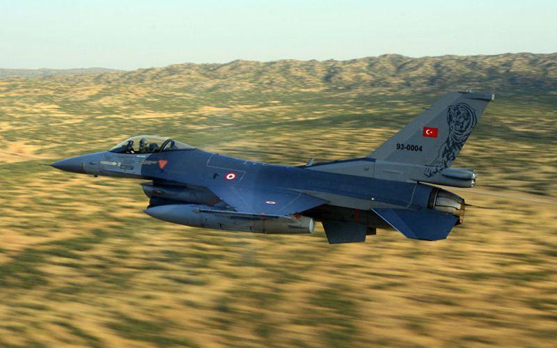 Un F-16C de la Force Aérienne Turque s'est écrasé avant son atterrissage