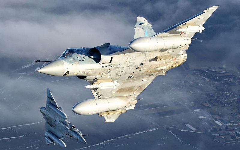 Baltic Air Policing : Les quatre Mirage 2000-5F ont achevé leur mission