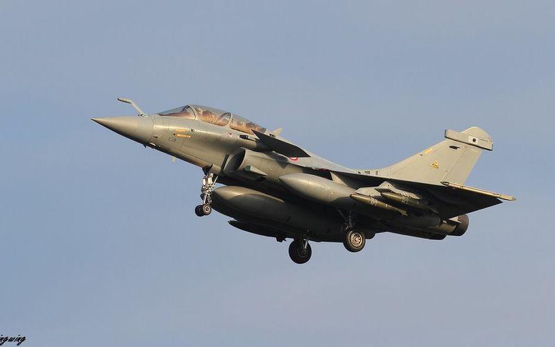 L'emport et le tir des bombes non-guidées Mk82 a été validé sur Rafale