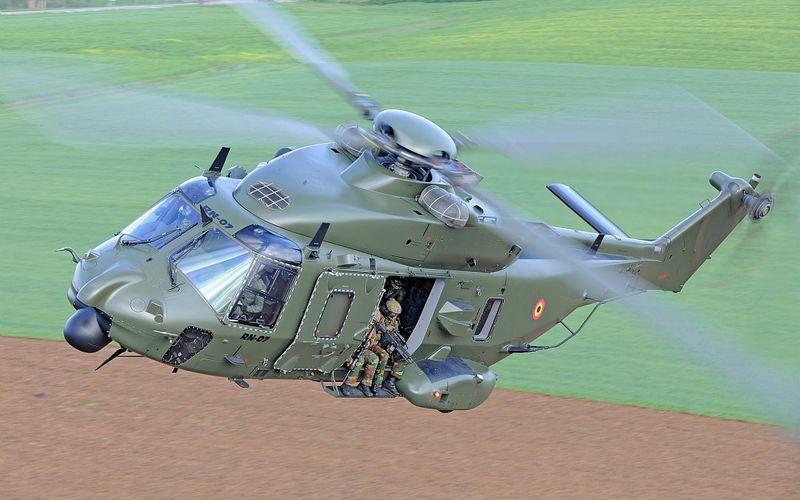 La Belgique et les Pays-Bas créent l'European Expeditionary Helicopter Wing