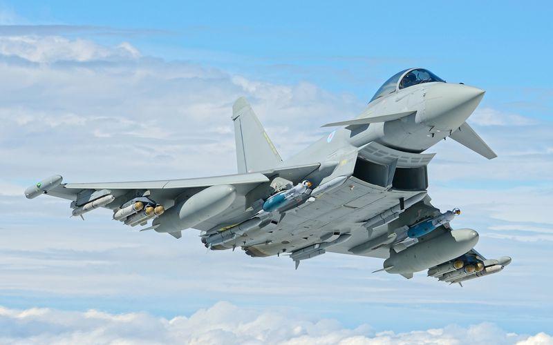 BAE Systems réalise le premier tir réel de Brimstone depuis l'Eurofighter Typhoon