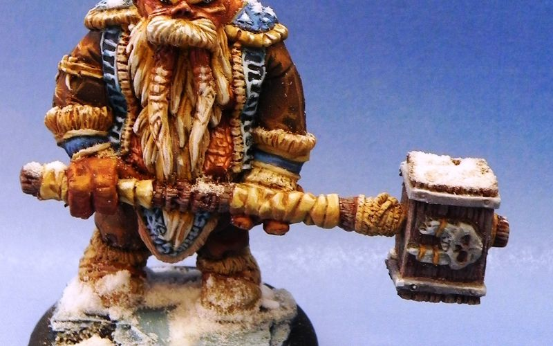 Figurines Briskar  : le chef Aukanek