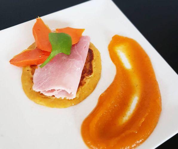 Pancakes au potiron {sans beurre}