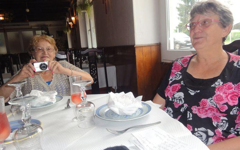 Le déjeuner au restaurant SANGHAÏ le 22 JUILLET 2017.