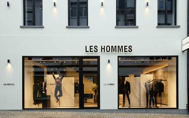 LES HOMMES / OPENS ITS  FIRST FLAGSHIP STORE IN BELGIUM IN ANTWERP