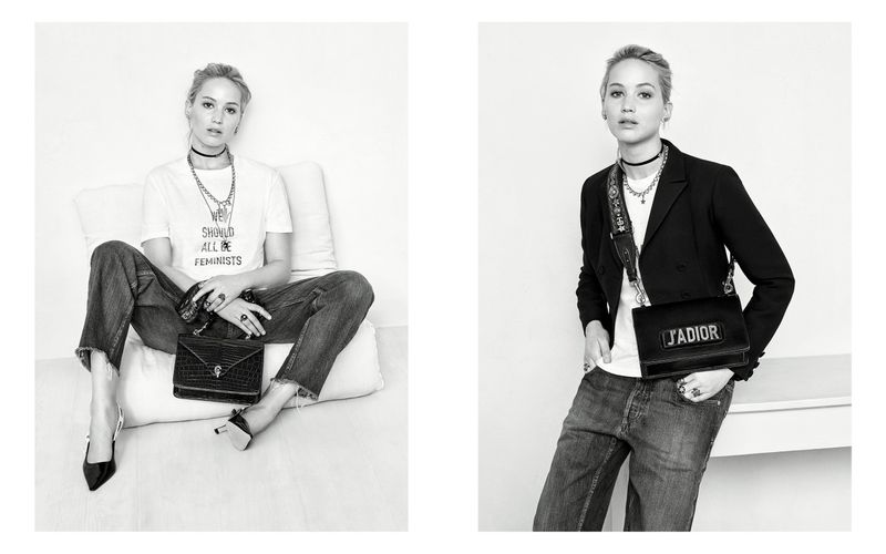 DIOR FALL 2017 HANDBAG CAMPAIGN WITH JENNIFER LAWRENCE / J'ADIOR