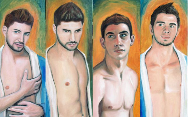 4 jeunes portraits