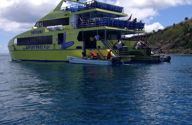 ARCHIPEL DES YASAWAS : la traversée jusqu'à l'ile de NANUYA BALAVAU